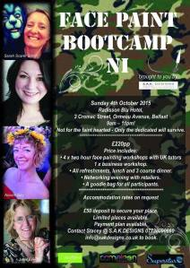 Face Paint Boot Camp NI